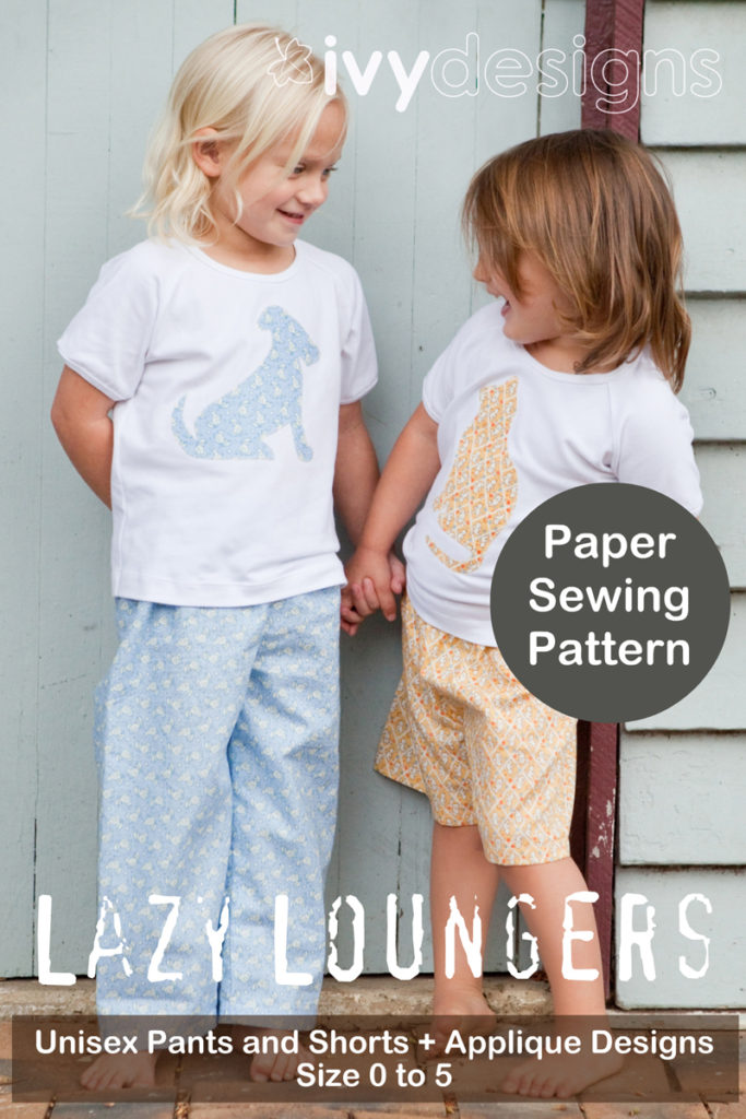 Paper & PDF sewing patterns