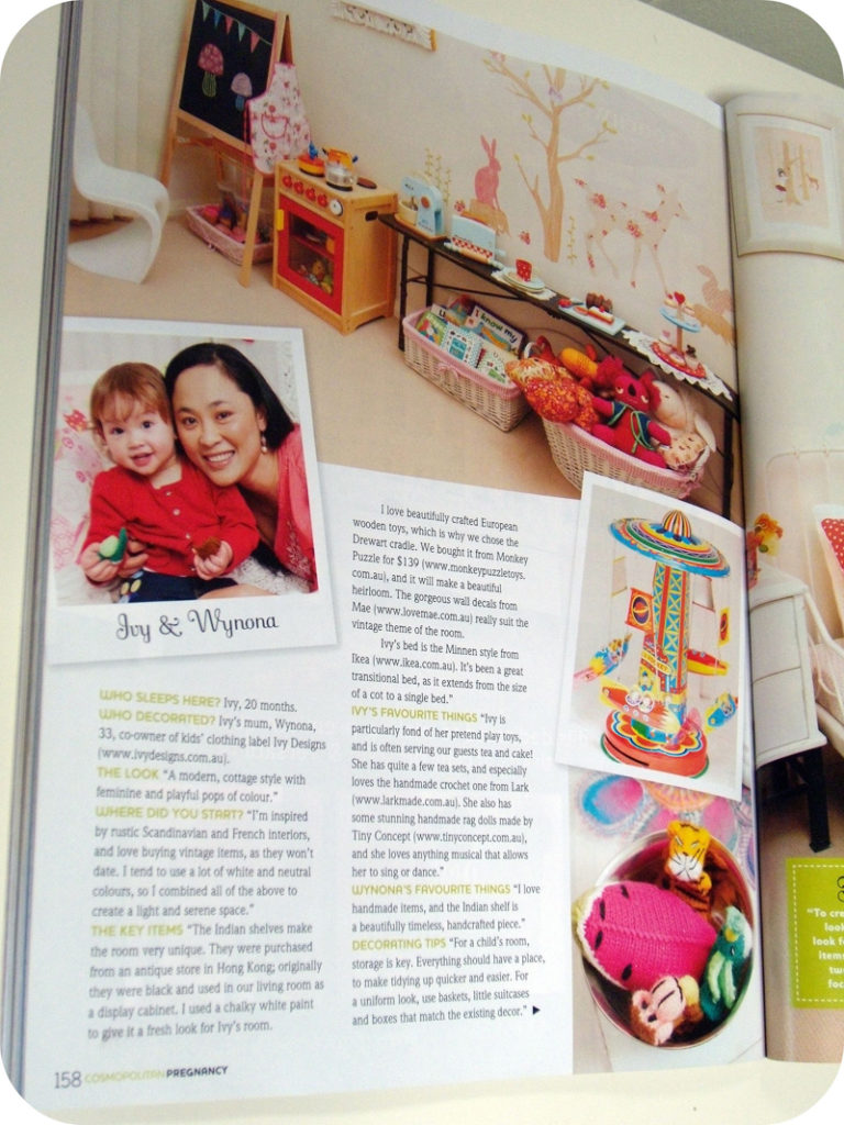 Interview with Wynona about her daughter's room styling