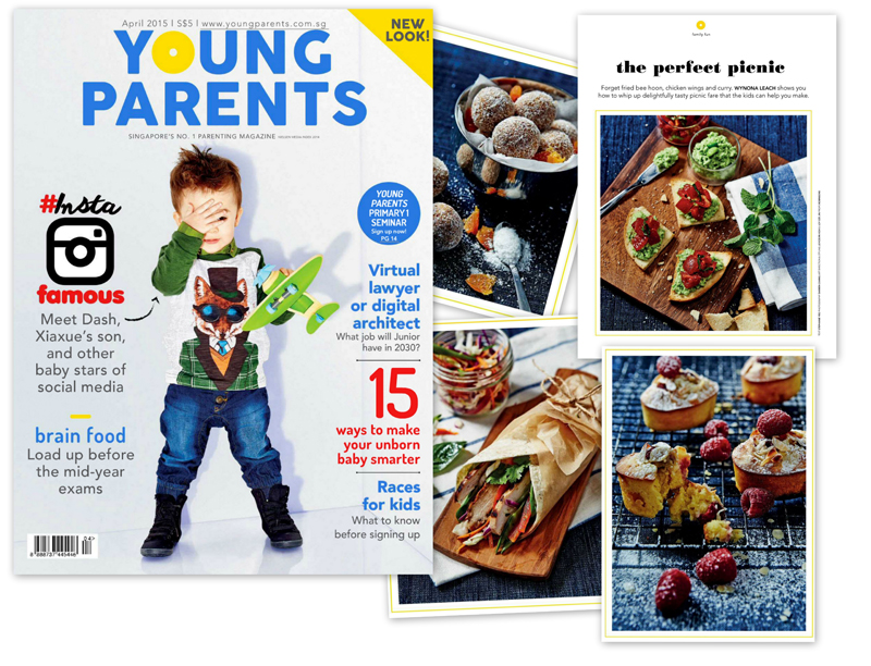 Editorial series in Young Parents magazine